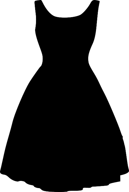 Dress Black Silhouette - Free vector graphic on Pixabay (155888)