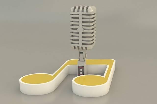 Microphone 3D Karaoke - Free image on Pixabay (156406)