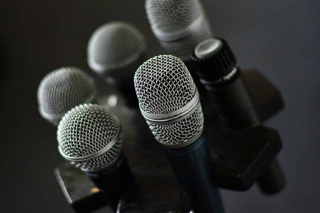 Microphone Micro Stand - Free photo on Pixabay (156445)