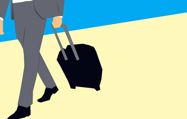 Businessmen Hold Luggage Business - Free image on Pixabay (157343)
