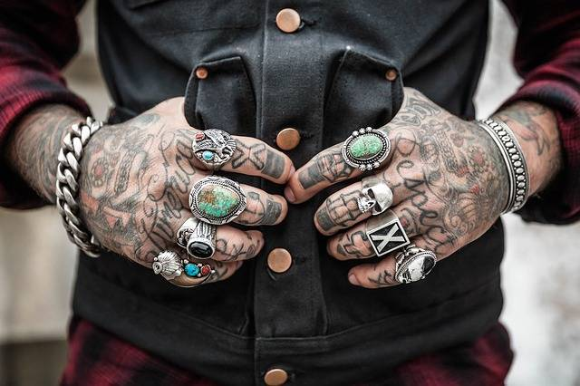 Hands Tattoos Rings - Free photo on Pixabay (158121)