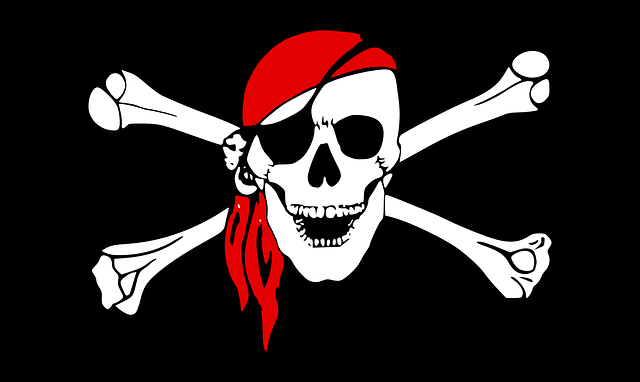 Pirate Crossbones Skull - Free vector graphic on Pixabay (159012)