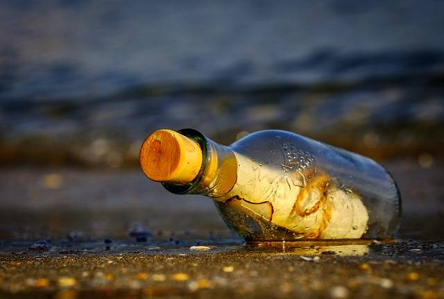 Message In A Bottle Sea - Free photo on Pixabay (159400)