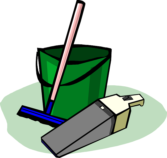 Bucket Cleaning Supplies - Free vector graphic on Pixabay (160187)