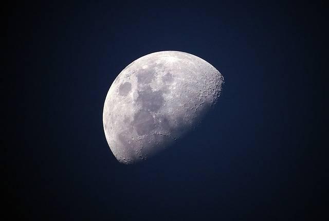 Moon Sky Luna - Free photo on Pixabay (160834)
