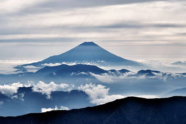 Mt Fuji Volcano Mount - Free photo on Pixabay (160990)