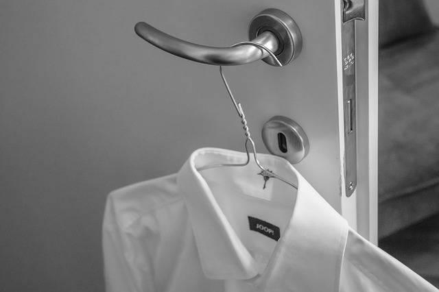 Shirt White Monochrome - Free photo on Pixabay (161872)