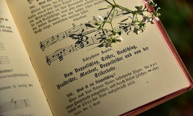 Book Song Old - Free photo on Pixabay (162467)