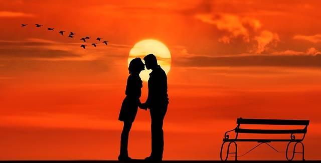 Sunset Pair Lovers - Free image on Pixabay (162525)