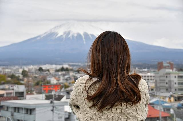 Mt Fuji Cloudy Sky Longing - Free photo on Pixabay (163419)