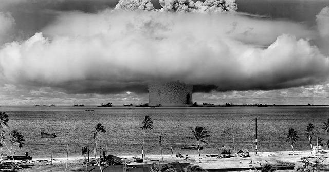 Nuclear Weapons Test - Free photo on Pixabay (163910)