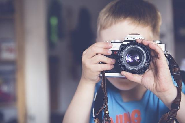 Boy Photographer Camera - Free photo on Pixabay (172168)