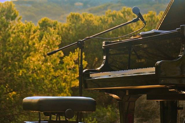 Piano Open Air Nature - Free photo on Pixabay (173491)