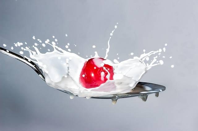 Milk Splash Cherry - Free photo on Pixabay (177996)
