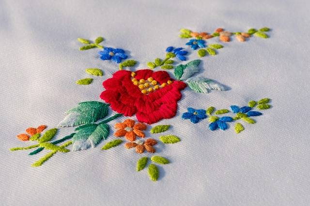 Embroidery Embroidered Craft - Free photo on Pixabay (178492)