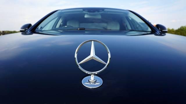 Mercedes-Benz Emblem Auto - Free photo on Pixabay (178807)