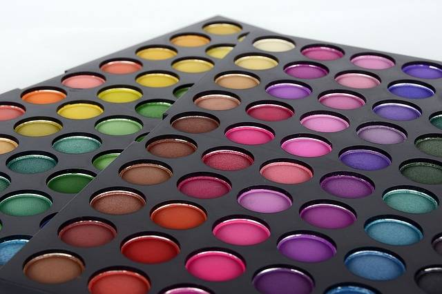 Eye Shadow Cosmetics Color Palette - Free photo on Pixabay (180510)