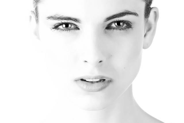 Model Face Beautiful Black And - Free photo on Pixabay (181002)