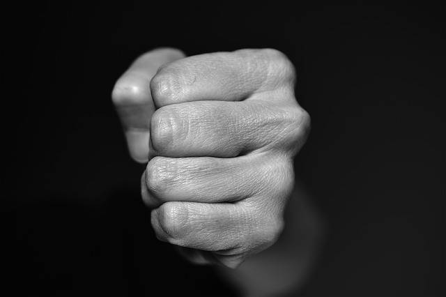 Fist Blow Violence - Free photo on Pixabay (181451)