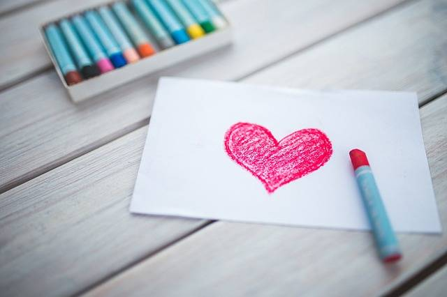 Heart Card Pastels - Free photo on Pixabay (181899)