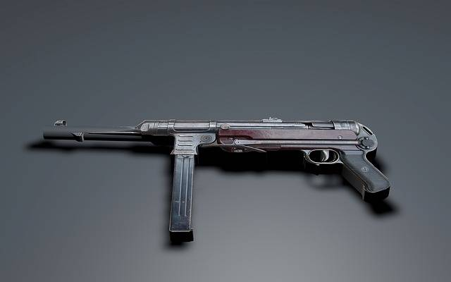 Submachine Gun Mp 40 Schmeisser - Free image on Pixabay (190973)