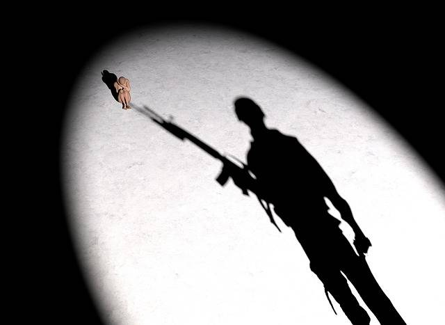 Soldier Woman Silhouette - Free image on Pixabay (193287)