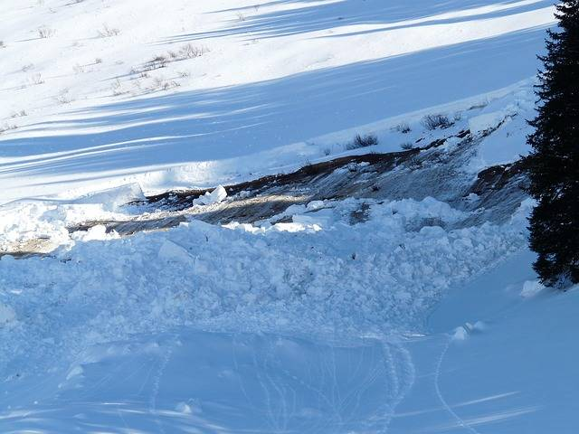 Loose Snow Avalanches Avalanche - Free photo on Pixabay (195193)