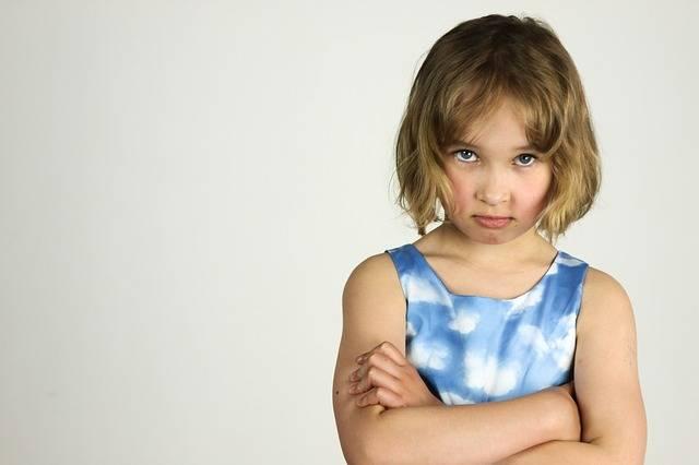 Child The Little Girl Anger Bad - Free photo on Pixabay (205664)