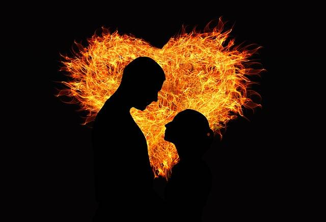Heart Love Flame - Free image on Pixabay (208724)