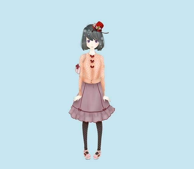 Girl Lolita Fashion - Free image on Pixabay (211085)