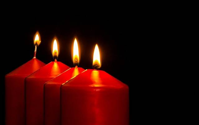 Advent Candles Christmas - Free photo on Pixabay (215155)