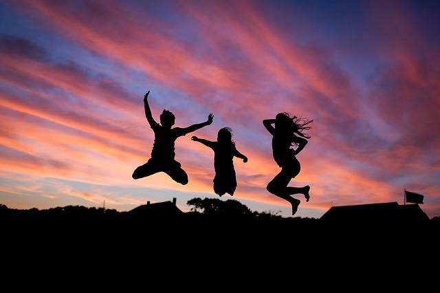 People Jumping Happiness - Free photo on Pixabay (220036)