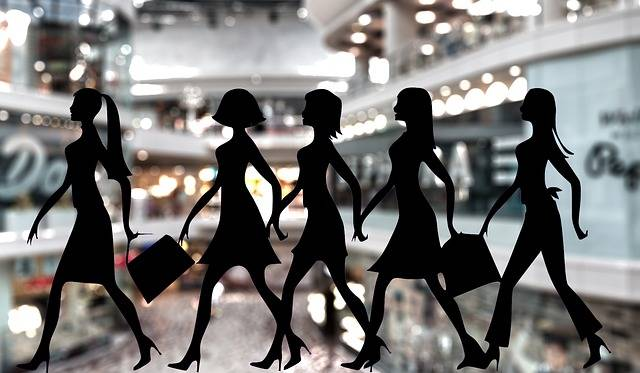 Shopping Women Shops - Free image on Pixabay (224185)