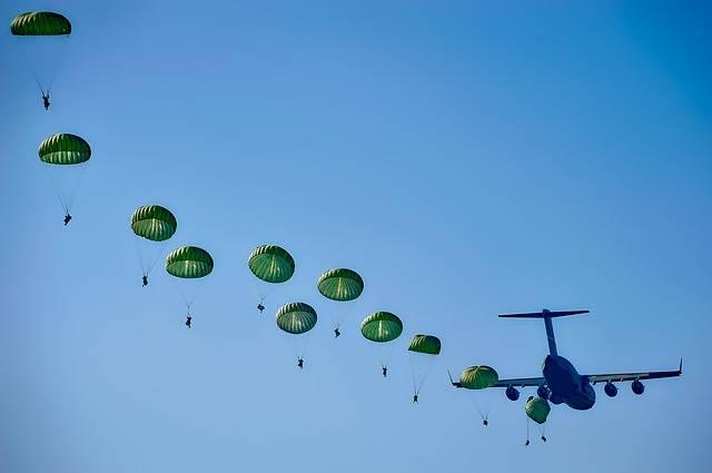 Army Rangers Parachuting - Free photo on Pixabay (228939)