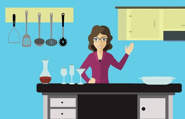 Woman Kitchen Cook - Free image on Pixabay (229143)