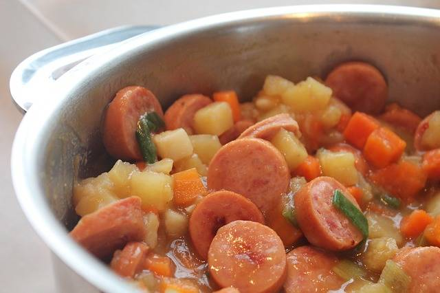 Sausage Stew Noon - Free photo on Pixabay (234841)