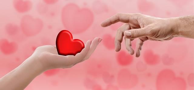 Heart Valentine'S Day Hand - Free photo on Pixabay (240293)