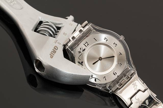 Wristwatch Shifting Spanner Time - Free photo on Pixabay (243870)