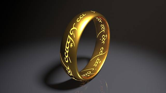 Ring Lord Who Rings Hobbit Middle - Free image on Pixabay (245182)