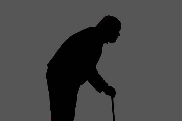 Silhouette Man Hunched Over - Free image on Pixabay (245620)