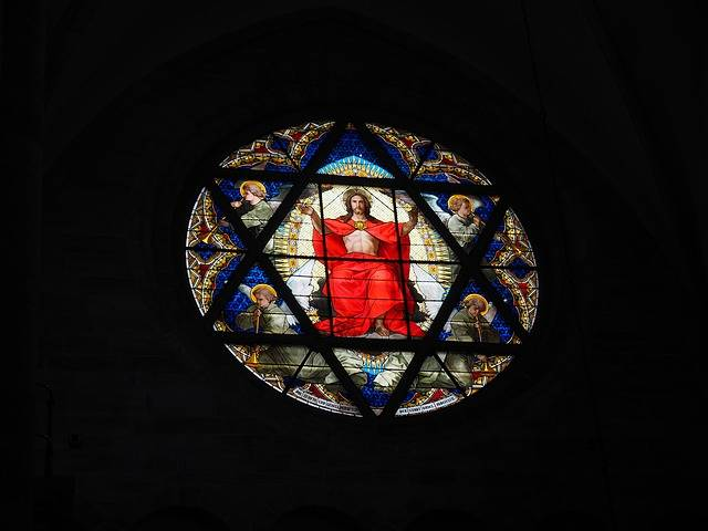 Christ Window Stained Glass - Free photo on Pixabay (253317)
