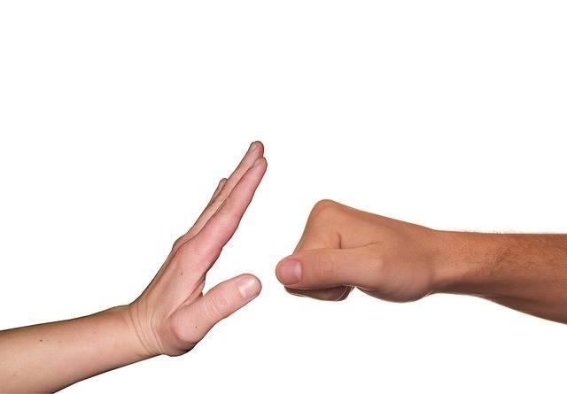 Stop Violence Fist - Free photo on Pixabay (254014)