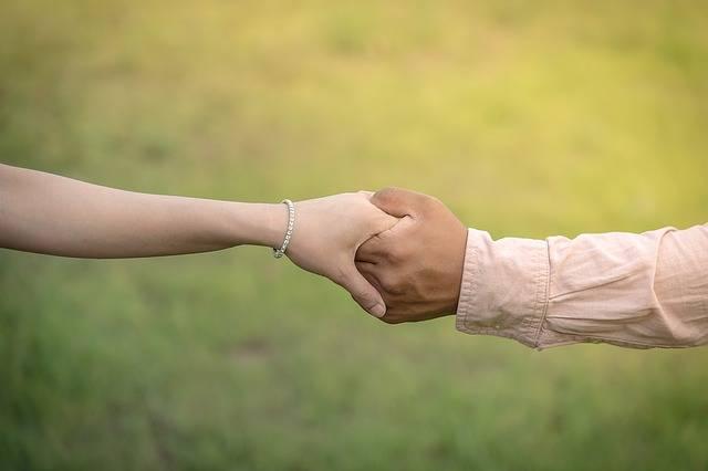 Hands Hand In Wedding - Free photo on Pixabay (254972)