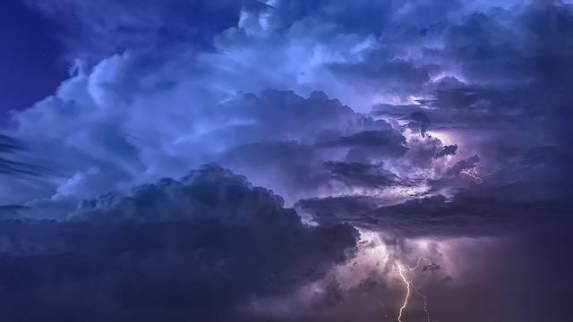 Thunderstorm Flashes Night - Free photo on Pixabay (260454)