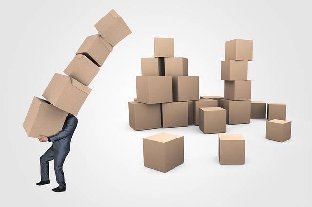 Businessman Boxes Transport - Free image on Pixabay (273220)
