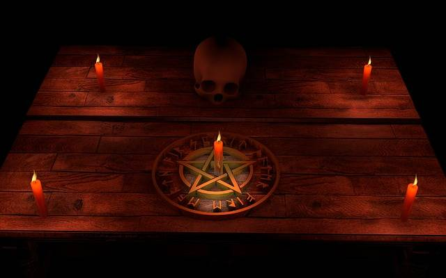 Pentacle Magic Occultism - Free photo on Pixabay (274041)