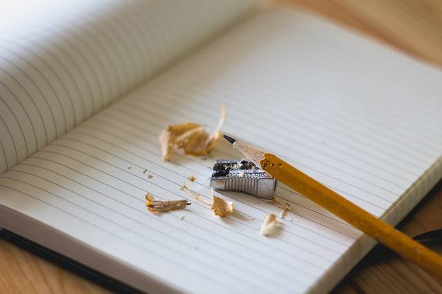 Pencil Sharpener Notebook - Free photo on Pixabay (280352)