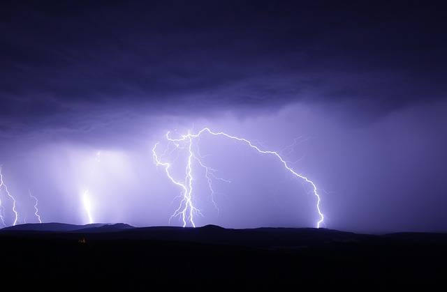 Flash Thunderstorm Ore Mountains - Free photo on Pixabay (283253)