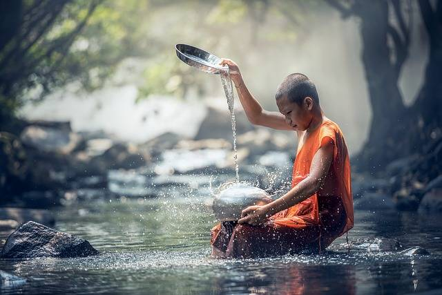 Buddhist Ritual Water - Free photo on Pixabay (295042)