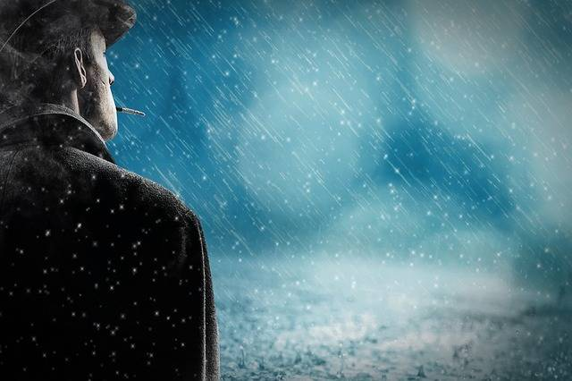 Man Rain Snow - Free photo on Pixabay (295442)